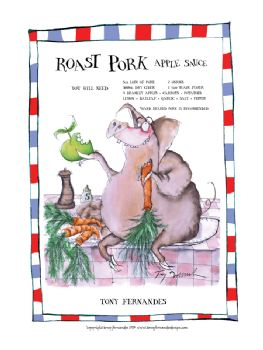 Roast Pork - signed print